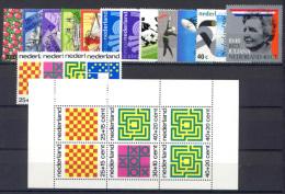 Olanda 1973 Annata Completa / Complete Year **/MNH VF - Period 1949-1980 (Juliana)