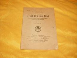 LIVRE ANCIEN USAGE DATE A DETERMINER / N°333 MARIE BERTHOU / LE CHAT DE LA MERE MICHEL 2EME EDITION - Livres Parlés