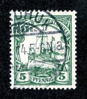 (1939)  SW Africa 1906  Mi.25  (o)    Catalogue  € 1.70 - Colony: German South West Africa