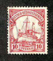(1943)  SW Africa 1906  Mi.26a  (o)    Catalogue  € 1.80 - Colony: German South West Africa