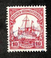 (1944)  SW Africa 1906  Mi.26b  (o)    Catalogue  € 20.00 - Colony: German South West Africa