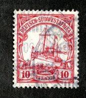 (1945)  SW Africa 1906  Mi.26b  (o)    Catalogue  € 20.00 - Colony: German South West Africa