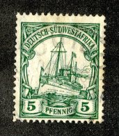 (1949)  SW Africa 1906  Mi.25  (o)    Catalogue  € 1.70 - Colony: German South West Africa