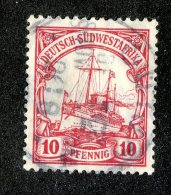 (1950)  SW Africa 1906  Mi.26a  (o)    Catalogue  € 1.80 - Colony: German South West Africa