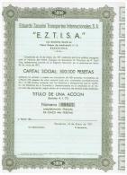 ACCION ANTIGUA - ACTION ANTIQUE = Eduardo Zacarini 1971 Numeracion Baja - Acciones & Títulos