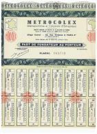 ACCION ANTIGUA - ACTION ANTIQUE = METROCOLEX - Paris - Acciones & Títulos