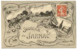 JARNAC Fantaisie Souvenir (Lebon) Charente (16) - Jarnac
