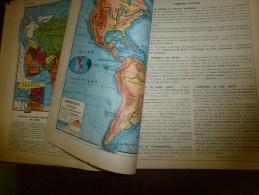 1947   USA ; CANADA Ses Peaux-Rouges) ; MEXIQUE; EUROPE; AUSTRALIE ; FRANCE...Autres Pays (Photos: Boyer,Sarda,Yvon..etc - Geographie