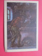 KOLLNFLOCKEN SIND VOLLKORNFLOCKEN GRIMMS MARCHEN  Bild 35 Série Allemande > Contes De Grimm Allemagne Chromo Image - Schokolade