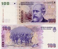 ARGENTINA    100 Pesos    P-357   ND (2002)    UNC  [sign. Marcó-Cobos] - Argentine