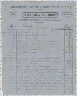 Pageneau Et Faucheron, Rouennerie Draperie à Fontenay Le Comte, Dpt 85 - Vestiario & Tessile