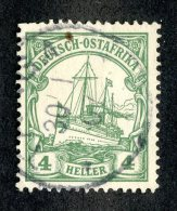 (1988)  Ost Africa 1905  Mi.23c  (o)    Catalogue  € 7.00 - Colony: German East Africa