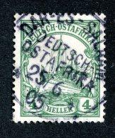 (1991)  Ost Africa 1905  Mi.23b  (o)    Catalogue  € 15.00 - Colony: German East Africa