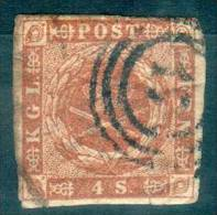 [21] - DANEMARK - N° 8 - Oblitéré - 1851-63 (Frederik VII)