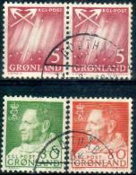 [21] - GROENLAND - Lot Timbres  Oblitérés - Groenland