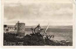 Tiberias Lake Of Galilee, Israel, 1950 Postally Used, C1940s/50s Vintage Real Photo Postcard - Israel