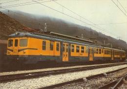 POSTAL DE ESPAÑA DE RENFE DE UNA UNIDAD ELECTRICA 436-437-438(TREN-TRAIN-ZUG) COLECCION RENFE - Eisenbahnen