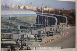 """UKRAINE LVIV  AIRPORT  - From The Series """"Ukrainian Airports NOW And THEN (2012 Y.ed) - Aerodrome"""