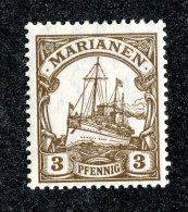 (2025)  Mariana Is 1916  Mi.20  M*   Catalogue  € 1.20 - Colony: Mariana Islands