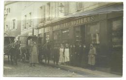 CPA Commerce Vins,non Localisé, Michel Nozières, Pub Ricqlès, Rhum St James, Attelage, Diligence, Belle Animation - Cafés