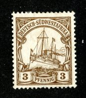 (2033)  SW Africa 1901  Mi.11  M*   Catalogue  € 5.00 - Colony: German South West Africa