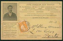 Postal Publicitário Edição Particular LOJA / MERCEARIA / FOGO De ARTIFICIO Rua Bemformoso LISBOA. Old Postcard PORTUGAL - Lisboa