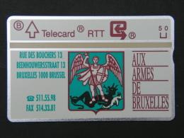P 260. Aux Armes De Bruxelles. 2000 Ex. - Belgium