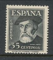 Spain 1948 Edifil #  1035. Hernan Cortez, MNH (**) - 1931-Aujourd'hui: II. République - ....Juan Carlos I