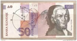 Slovenia - Banconota Circolata Da 50 Talleri - 1992 - Slovenia