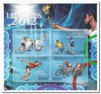Burundi 2012 Postfris MNH Olympic Games, Bicycle - 2010-..: Ongebruikt