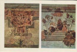 Heraklion Museum Postcard, 384, Silies Of Amnissos (1600 BC), 55 - Paintings