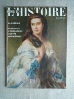 Miroir De L'Histoire Avril 63 N°154 La Cagoule L'impératrice Contre Napoléon III.V.sommaire. - History