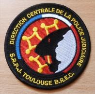 ECUSSON POLICE  SRPJ TOULOUSE BREC - Police & Gendarmerie