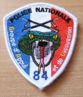 ECUSSON POLICE    GRP APPUI DISSUASION  84 - Police & Gendarmerie