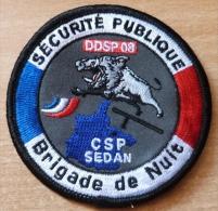 ECUSSON POLICE    BRIGADE DE NUIT CSP SEDAN  DDSP08 - Musique & Instruments