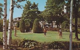 Gardens, Men Playing Croquet, Guild Inn, SCARBOROUGH, Ontario, Canada, 40-60´s - Ontario