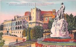 MONACO LE PALAIS DU PRINCE MONUMENT COMMEMORATIF DU 25 ANNIVERSAIRE DE S.A.S LE PRINCE ALBERT 1 Er - Palais Princier