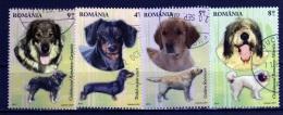 ROMANIA / ROMANIA / ROUMANIE 2012  Yvert Nr.  Usada    Perros - Used Stamps