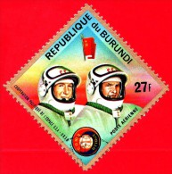 "Nuovo - BURUNDI - 1975 - Spazio -  Astronauti - Progetto Spaziale ""Apollo–Soyuz"" - Leonov E Kubasov - 27 - Burundi"