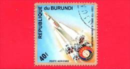 BURUNDI - 1975 - Spazio - ´Apollo-Soyuz´ Space Project - 40 F - Burundi