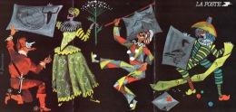 CALENDRIER LA POSTE PROGRAMME PHILATELIQUE 1993 CACHET BUREAU TEMPORAIRE SALON DE LA CP DRAGUIGNAN - Calendriers