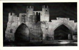 Print Coronation Floodlighting WALMGATE BAR YORK Yorkshire Evening Post 1953 - Géographie