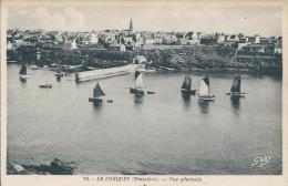 75.  -  LE CONQUET  (Finistère).  -  Vue Générale - Le Conquet