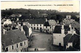 22 PLESTIN LES GREVES VUE GENERALE PRISE DU CLOCHER - France