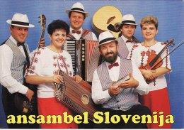 Promotion Print ANSAMBEL SLOVENIJA Music Band Slovenia - Picture Cards
