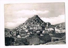 B1012 - Mistretta, Scorcio Panoramico Con Veduta Del Castello Saraceno. - Italia