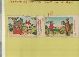 2 Chromos,  Les 2 Amis, Pas De Rancune  &  Je T'ai Donné Mon Coeur, Sept 2013 65 - Collections