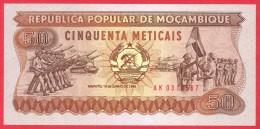 Mozambique -  50 Meticais  1986 UNC / Papier Monnaie - Billet - Mozambique - Mozambique