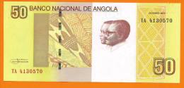 # ANGOLA 50 Kwanzas Octobre 2012 AUNC - Angola