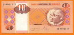 # ANGOLA 10 Kwanzas Janvier 2011 TTB++ - Angola